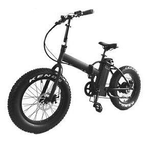 Folding Electric Bicycle - The camper's companion!