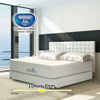 NEW Q.S. SPRING AIR BOXSPRING - DURABLE WOODEN CONSTRUCTION