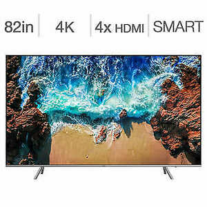 "New 2018/2019 model Samsung 82"" 4K HDR LED smart tv UN82NU8000"