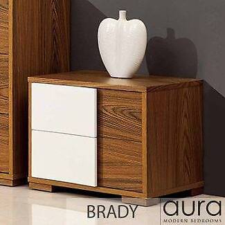 BRAND NEW WOODEN BRADY SIDE TABLES $100 EACH WORTH $599