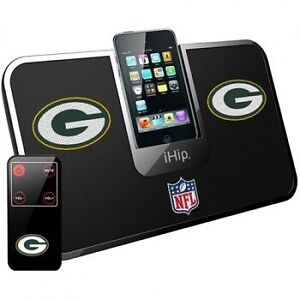 Green Bay Packers Portable IDock Stereo System (New)
