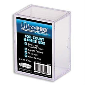 ULTRA PRO 2-PIECE PLASTIC CASES .... for hockey & sports cards