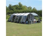 Fantastic 8 man family tent with loads of space & headroom. Only used once so practically brand new.