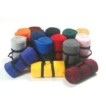 Heavy Weight Fleece Blanket Throw -( Wholesale Lots of 24 )
