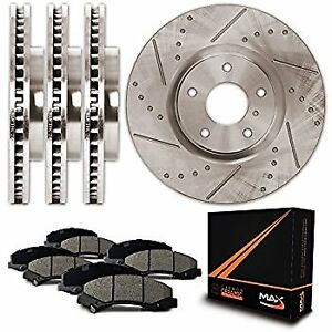 4x Rotors, 4x Brakes (Journey, Grand Caravan, + more) *NEW*