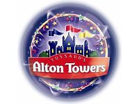 Alton Towers Tickets for Thurs 5th October