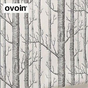 """ovoin """"woods motif"""" wallpaper / papier peint"""