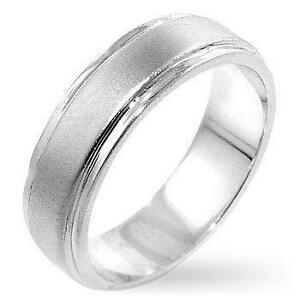 Mens White Gold Wedding Bands Size 11