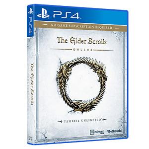 PS4 Elder Scrolls Online ESO