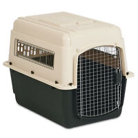 medium sized enclosed dog crate