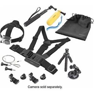 Insignia Essential Accessory Kit for GoPro HERO 1/HERO 2/HERO 3/
