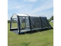 Kampa Hayling air 4 berth inflatable tent with carpet and footprint