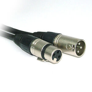 5m Microphone cable XLR male-female mic lead QUALITY