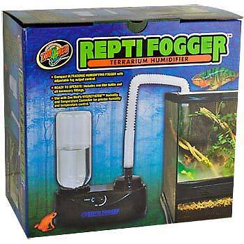 zoo med repti fogger-terrarium humidifier and reptile humidifier