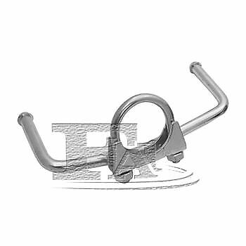 Bosal Exhaust Clamp Bracelet Mounting Spare Replacement For Peugeot 207 Cc