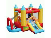 4 in 1 Bouncy Castle with Slide & Ball Pool Pit