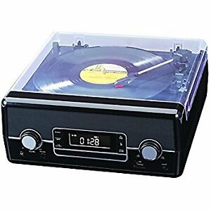 Suitcase-style record player