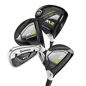 TaylorMade 2017  M2 Package Set, Wooden Sticks Pro-Shop