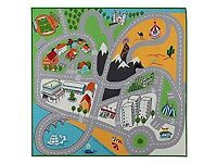 IKEA Road Map Rug Play Mat for Nursery/ Boys Bedroom