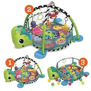 Infantino grow with me gym activity play mat
