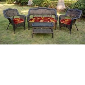 wicker set 4PC
