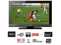 Sony BRAVIA 37 inch Full HD Internet TV ★ Ethernet ★ Excellent Condition ★ USB ★ WiFi Ready ★