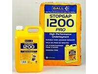Brand new Self level laytex 20 kg + liquid Ball Stopgap 1200 for floor sufrace restoration bargain