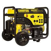 CHAMPION GAS/PROPANE 9000W GENERATOR