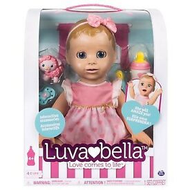 Luvabella blonde brand new and sealed with receipt Luva Bella