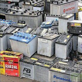 scrap batterys wanted