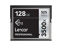 Cfast Card Lexar Professional 128GB 3500x 525 mb/s