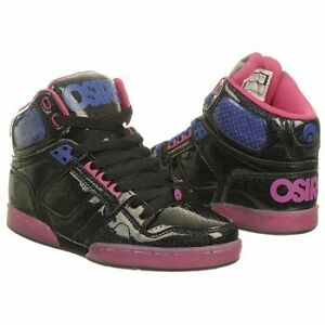 Osiris-Shoes-NYC-83-Slm-Ladies-High-Top-Skate-Black-Ras-Blue-US-Sizing