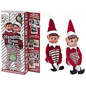Christmas elves boy & girl