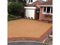 Resin bonded aggregate & rubber crumb driveways Taunton Exeter Bristol