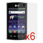 Metro Pcs LG Optimus Screen Protector