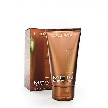 Decleor 125ml Men Skincare Clean Skin Scrub Gel - BRAND NEW & BOXED - FREE P&P