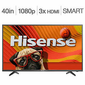 "TV SMART 1080P FULL HD DEL 40"" DE HISENSE"
