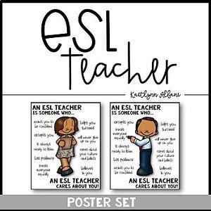 English Second Language Teacher