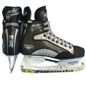 WOW.....Rare, Mission Betty Hockey Skates. Two pairs.