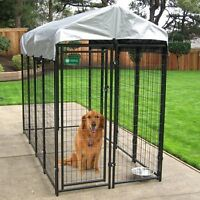4' x 8' x 6' AKC Dog Kennel Package
