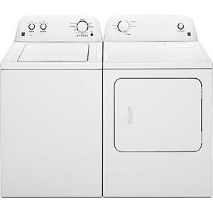 Kenmore 3.3 cu ft. Washer & 6.5 cu ft. Dryer With All Paperwork