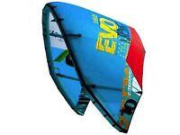 9 metre North Evo kitesurfing kite