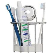 Chrome Toothbrush Holder