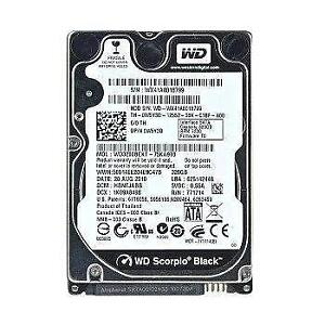 "WD Black 320GB 2.5"" 7200 RPM (WD3200BEKT) - SATA 3Gb/s - Hard Drive"