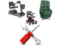 mobility aids service and repair ( scooter, power chair, recliner, wheelchair and etc)