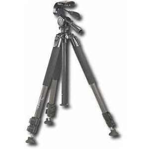 "Rocketfish - 65"" Carbon Fiber Tripod - Multi"