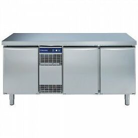ELECTROLUX RCDF3M30 3 DOOR FREEZER UNIT STAINLESS STEEL COUNTER