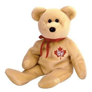 True the Canada exclusive bear Ty Beanie Baby stuffed animal