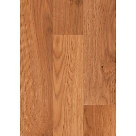 X13 PACKS HONEY OAK 6MM LAMINATE FLOORING