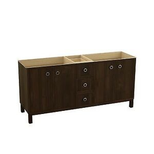 Kohler 99512-LG-1WD Jacquard 72 Bathroom Vanity Cabinet With Fur